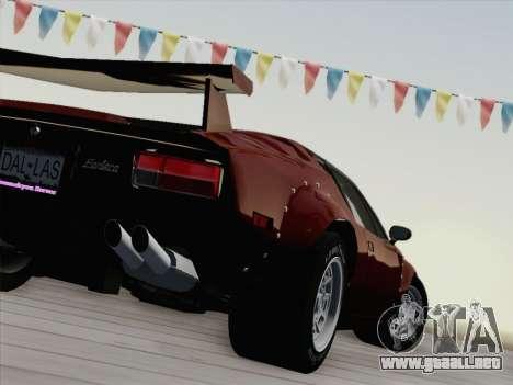 De Tomaso Pantera GT4 para la vista superior GTA San Andreas