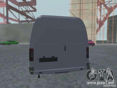 Gacela 2705 Gruzopasažirskaâ para la visión correcta GTA San Andreas