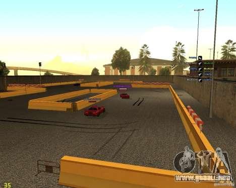 Circuito de deriva para GTA San Andreas tercera pantalla
