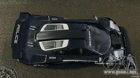 McLaren F1 ELITE Police para GTA 4 visión correcta