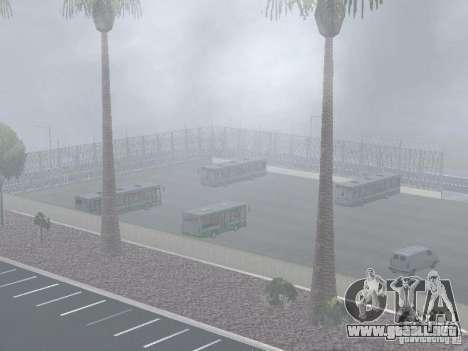 4-th autobús v1.0 para GTA San Andreas séptima pantalla