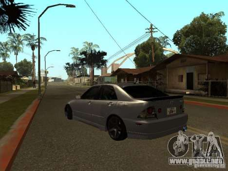 Lexus IS300 JDM para GTA San Andreas left