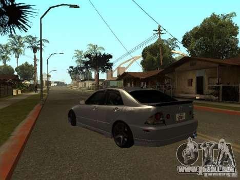 Lexus IS300 JDM para GTA San Andreas left