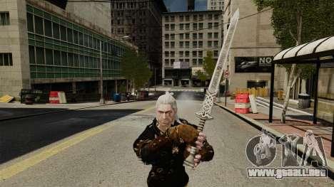 Espada de la v1 de brujo para GTA 4