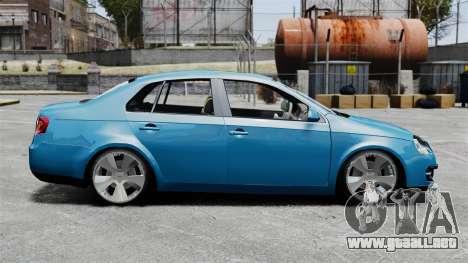 Volkswagen Jetta 2010 para GTA 4 left