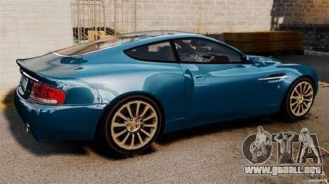 Aston Martin Vanquish 2001 para GTA 4 left