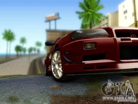 Nissan R34 Skyline GT-R para la visión correcta GTA San Andreas