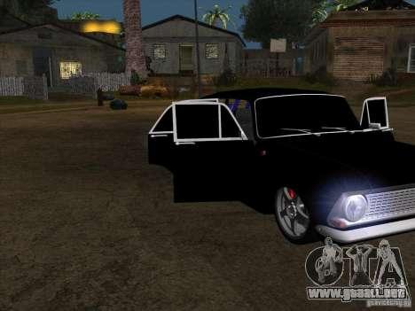 Moskvitch 408 estilo Extra para GTA San Andreas vista posterior izquierda