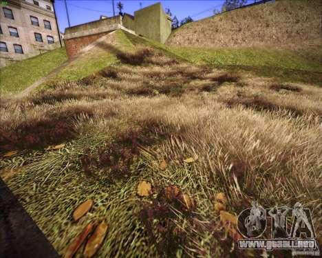 New grass para GTA San Andreas sucesivamente de pantalla