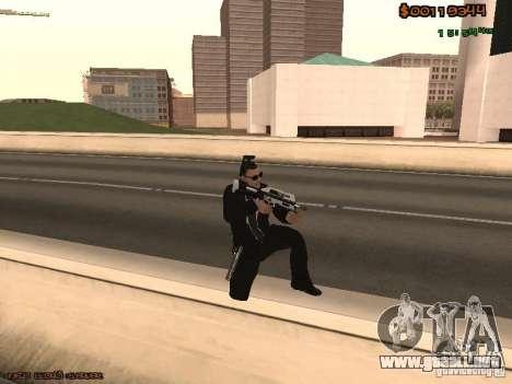 Gray weapons pack para GTA San Andreas sucesivamente de pantalla