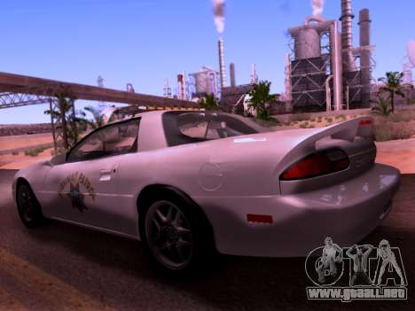 Chevrolet Camaro 2002 California Highway Patrol para GTA San Andreas