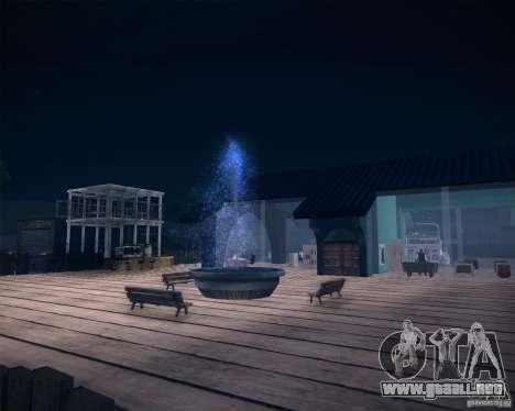 Beach House para GTA San Andreas sexta pantalla