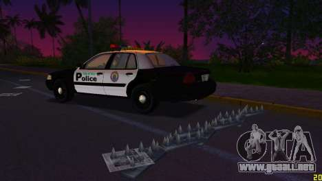 HP Stinger 2.0 para GTA Vice City sucesivamente de pantalla