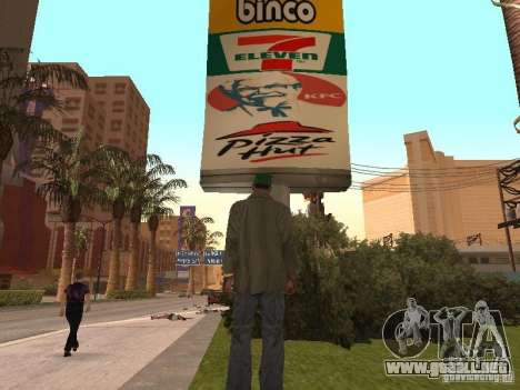 Nuevos restaurantes de texturas para GTA San Andreas