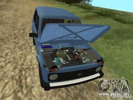 VAZ 21214 Niva para visión interna GTA San Andreas