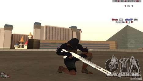 New Chrome Guns v1.0 para GTA San Andreas segunda pantalla