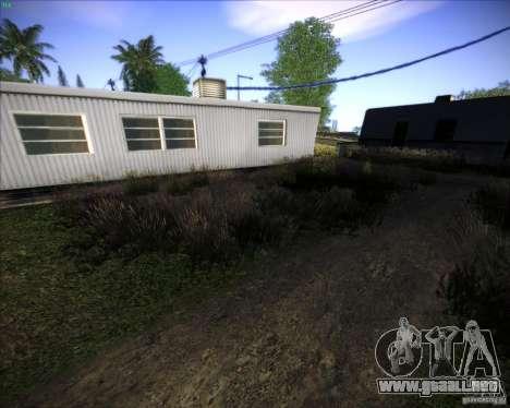New grass para GTA San Andreas quinta pantalla