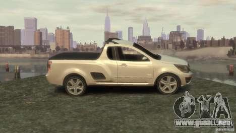 Chevrolet Montana Sport 2011 para GTA 4 left