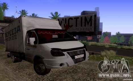 GAZ 3302 negocios para GTA San Andreas