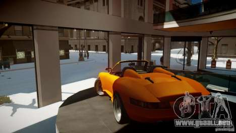 Comet Speedster para GTA 4 visión correcta