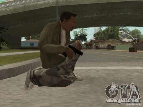 Pistola G18 para GTA San Andreas tercera pantalla