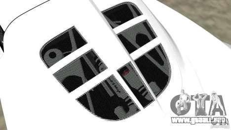 Hennessey Venom GT Spyder para GTA Vice City vista lateral izquierdo