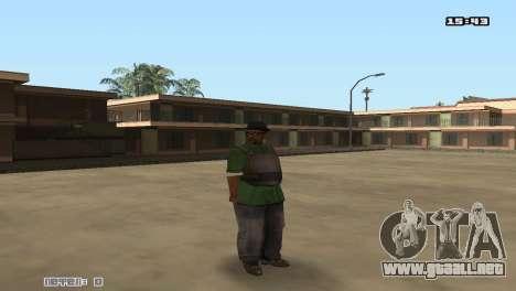 Skin Pack Groove Street para GTA San Andreas quinta pantalla