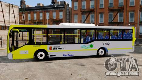 Busscar Urbanuss Pluss 2009 Le VIP Itaim Paulist para GTA 4 left