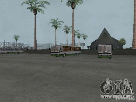4-th autobús v1.0 para GTA San Andreas sucesivamente de pantalla