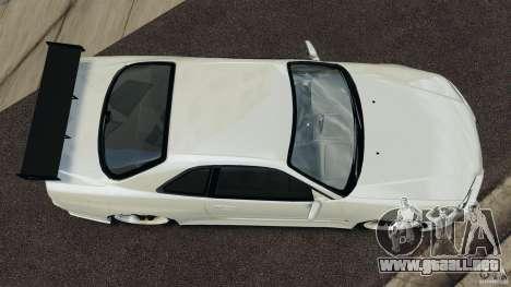 Nissan Skyline GT-R R34 para GTA 4 visión correcta