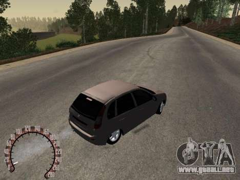 LADA 1119 para GTA San Andreas vista posterior izquierda