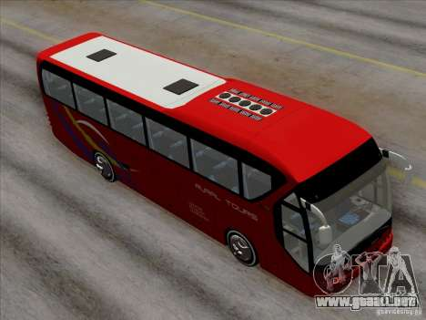 Neoplan Tourliner. Rural Tours 1502 para vista inferior GTA San Andreas