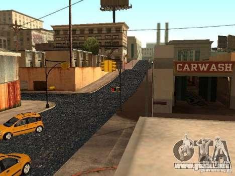 La nueva calle Grove para GTA San Andreas novena de pantalla