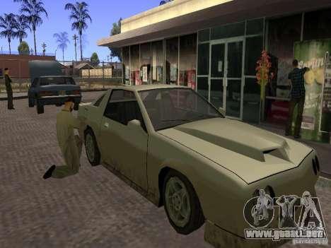 Gasolinera ocupado en Los Santos para GTA San Andreas segunda pantalla