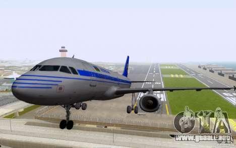 Airbus A-319 Azerbaijan Airlines para GTA San Andreas left