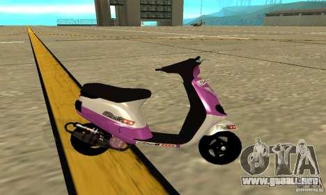 Piaggio ZIP para GTA San Andreas left
