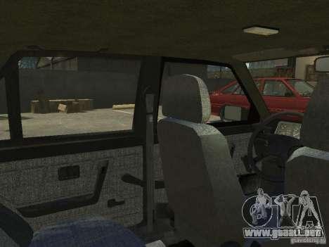 FSO Polonez Atu para GTA 4 vista superior
