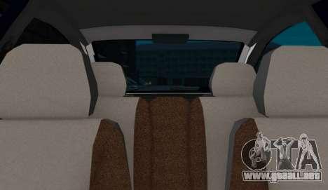 VAZ-2112 Coupe para GTA San Andreas vista posterior izquierda