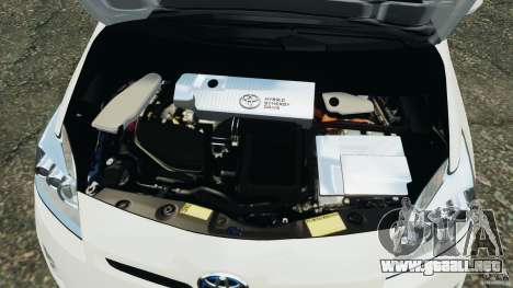 Toyota Prius NY Airport Service para GTA 4 vista superior