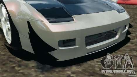 Nissan 240SX Kawabata Drift para GTA 4 ruedas