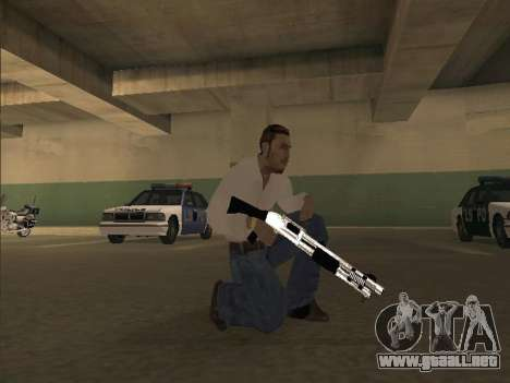 Chrome Weapons Pack para GTA San Andreas