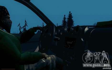VAZ 2190 para visión interna GTA San Andreas