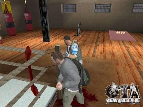 El sistema de combate de GTA IV V 2.0 para GTA San Andreas