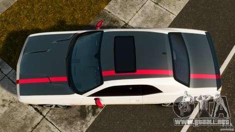 Dodge Challenger SRT8 392 2012 ACR [EPM] para GTA 4 visión correcta