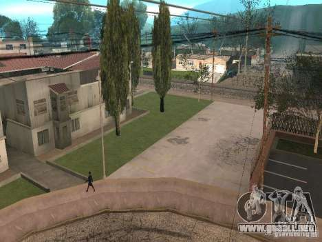 Parking Save Garages para GTA San Andreas sucesivamente de pantalla