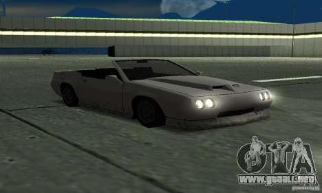 Buffalo Cabrio para la visión correcta GTA San Andreas