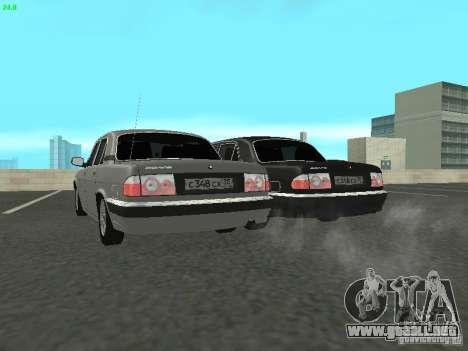 Volga GAZ 31105 para la visión correcta GTA San Andreas