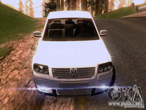 Volkswagen Passat B5+ para las ruedas de GTA San Andreas