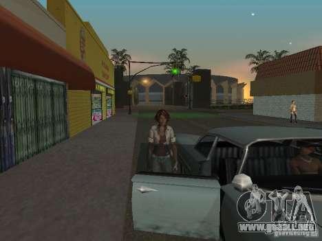 Remember Me Nilin para GTA San Andreas sucesivamente de pantalla