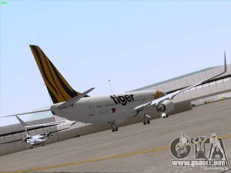 Boeing 737-800 Tiger Airways para la visión correcta GTA San Andreas